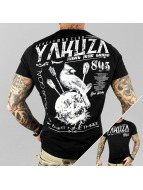 Yakuza T-skjorter Gentleman Club svart