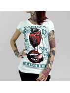 Yakuza T-skjorter Fxck With Me turkis