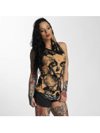 Yakuza Tank Tops Mexican Rose Hooded оранжевый