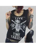Yakuza Tank Tops Live Vs. Time black