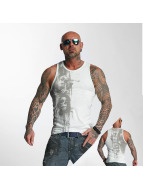 Yakuza Tank Tops Waiting Death blau