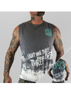 Yakuza Tank Tops 893 Trucker grey