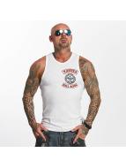 Yakuza Hell Rider Tank Top White