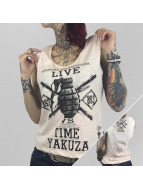 Yakuza Tank Tops Live Vs. Time rosa
