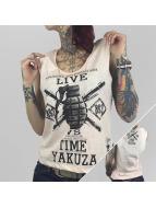 Yakuza Tank Tops Live Vs. Time rózowy