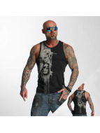 Yakuza Tank Tops Waiting Death svart