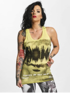 Yakuza Voices Long Tank Top Sunny Lime