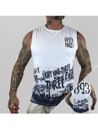 Yakuza Tank Tops 893 Trucker white