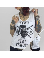 Yakuza Tank Tops Live Vs. Time white