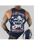 Yakuza Tanktop Psycho Circus indigo
