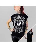 Yakuza Top Skull black