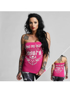 Yakuza top One Love Bandeau pink