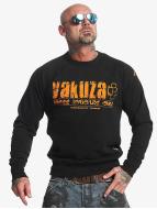 Yakuza Brass Knuckles Sweatshirt Black