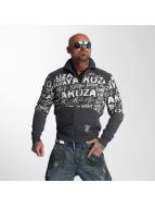 Yakuza Transitional Jackets Allover Label blå