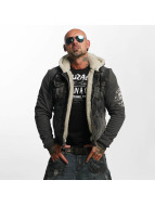 Yakuza Transitional Jackets Stalked By Devils Denim Teddy svart