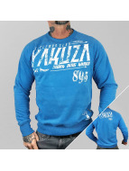 Yakuza Tröja Gentleman Club blå