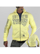 Yakuza Übergangsjacke Blow It Out gelb