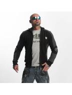 Yakuza Punx Two Face Zipper Jacket Black