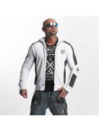 Yakuza Punx Two Face Zipper Jacket White