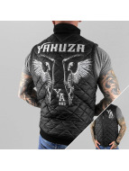 Yakuza Vest Skeleton Quilted black