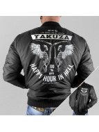 Yakuza Veste bomber Happy Hour noir