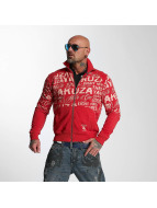 Yakuza Veste demi-saison Allover Label rouge