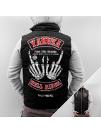 Yakuza Veste d'hiver Hell Rider noir