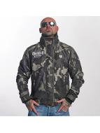 Yakuza Veste mi-saison légère Massive Fxxking camouflage
