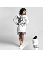 Yakuza Armor Wears Hooded Longsleeve White