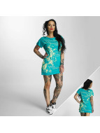 Yakuza Flower Dress Spectra Green