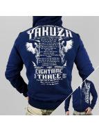 Yakuza Vetoketjuhupparit Commandments sininen