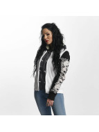 Yakuza Winter Jacket Skull Teddy Jacket white