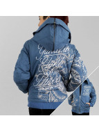 Yakuza Winterjacke Inked In Blood blau