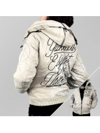 Yakuza Winterjacke Jacket Inked In Blood grau