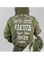 Yakuza Winterjacke Hunter And Hunted grün