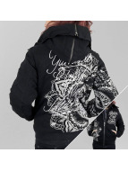 Yakuza Winterjacke Inked In Blood schwarz