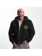 Yakuza Winterjacke Knockout Military schwarz