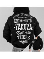 Yakuza Zimné bundy Hunter And Hunted èierna