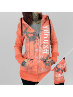 Yakuza Zip Hoodie Dark Side Long оранжевый