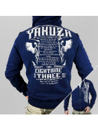 Yakuza Zip Hoodie Commandments blau