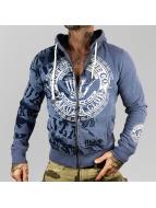 Yakuza Zip Hoodie Club blue