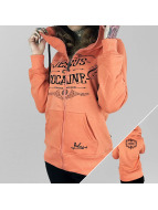 Yakuza Zip Hoodie Jesus or Cocaine orange