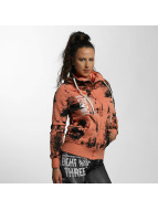 Yakuza Zip Hoodie Skull Dawn orange