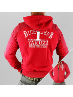 Yakuza Zip Hoodie Hide And Seek red