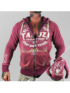 Yakuza Zip Hoodie Flying High red