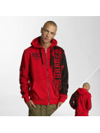 Yakuza Zip Hoodie Waiting Death red
