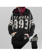 Yakuza Zip Hoodie Thunder And Lightning schwarz