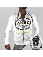 Yakuza Zip Hoodie Flying High weiß