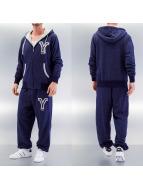 Yezz Anzug 3-Tone blau