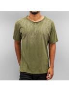 Yezz Brush Color T-Shirt Green/Ecru